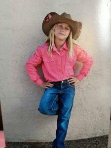 Sassy cowgirl